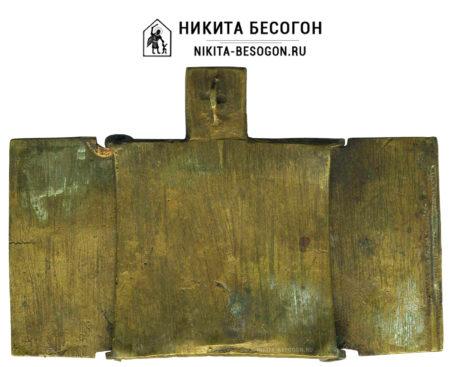 """Складень """"Святой мученик Никита Бесогон"""""""