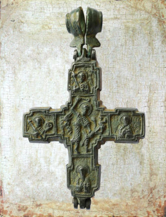 Меднолитые кресты