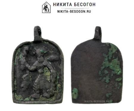 Никита Бесогон влево - арочная иконка